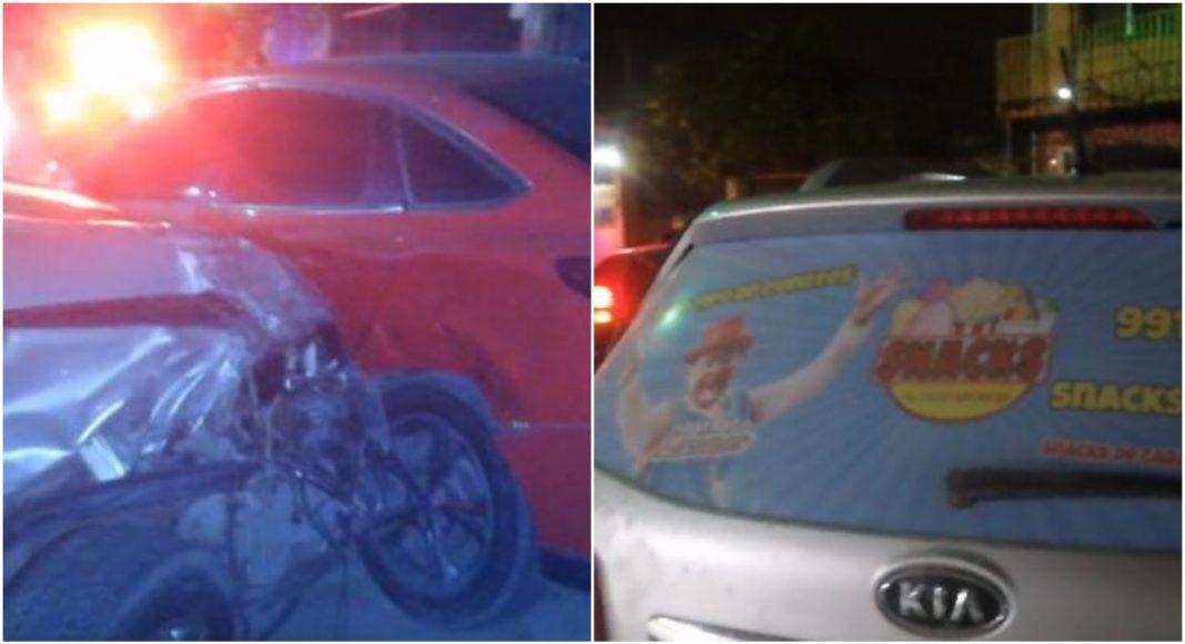 vehículo robado a Telefantasía