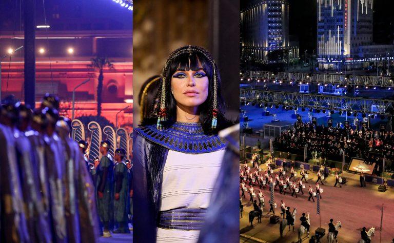 """""""Un espectáculo"""": así fue el desfile de momias reales en Egipto"""