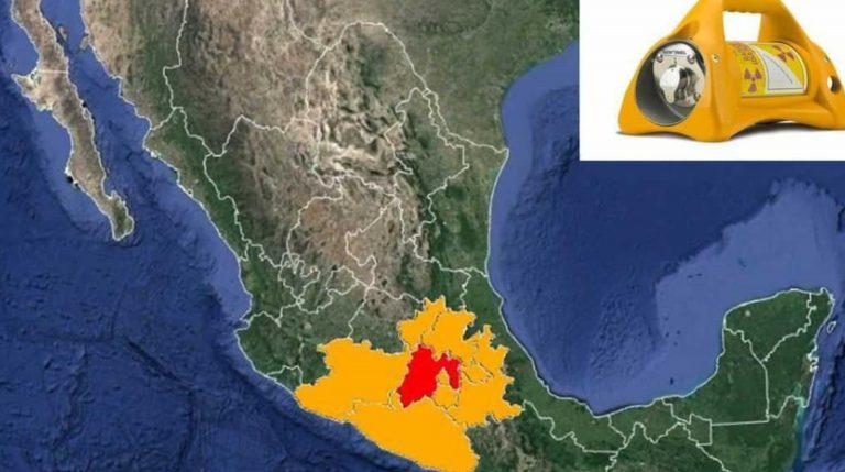 """Por """"robo"""" de una fuente radioactiva, México emite alerta en 9 estados"""