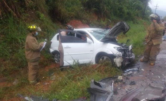 accidente en Omoa