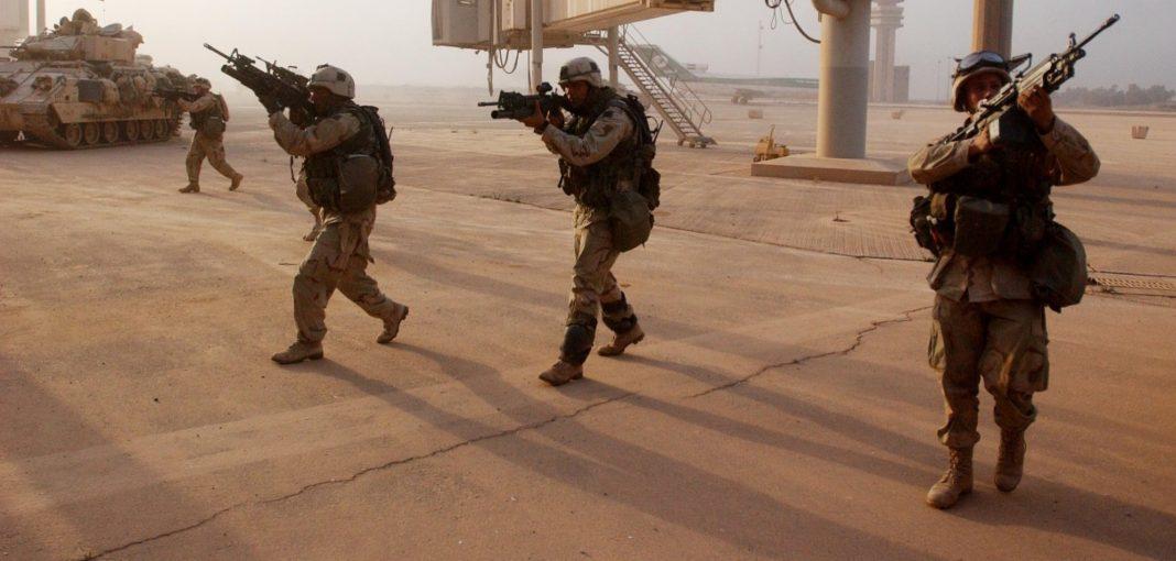 Misíles en aeropuerto de Bagdad