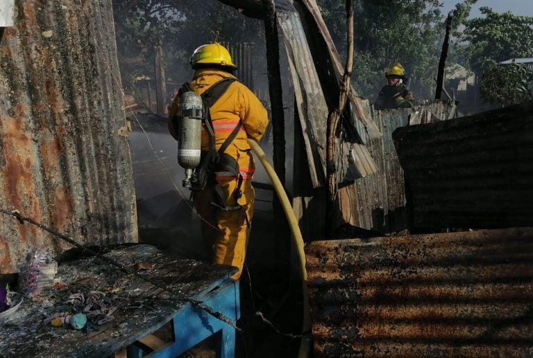 El Progreso: en incendio muere bebé de 5 meses y madre queda grave