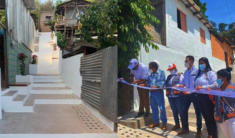 Fundación Terra inaugura seis senderos peatonales en colonia Canaán