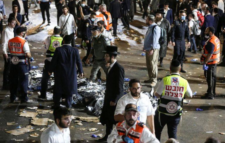 Israel | 38 muertos y decenas de heridos en masiva celebración religiosa