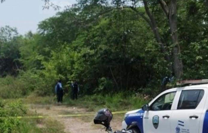 Hallan mujer muerta en Santa Cruz de Yojoa