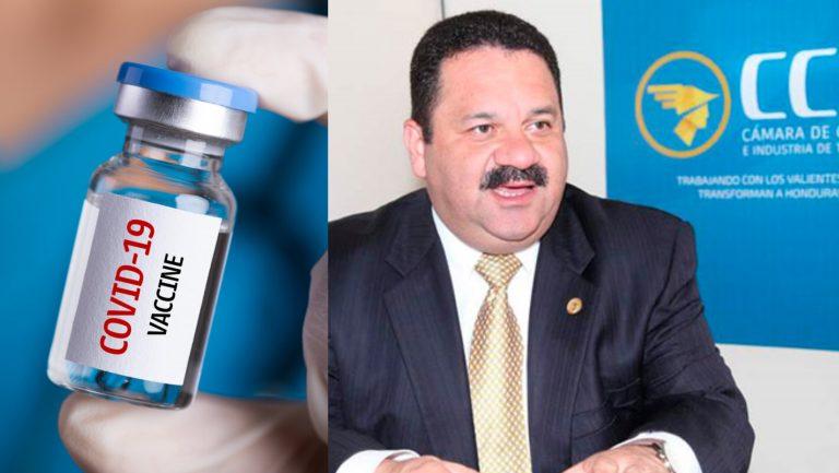 """Atraso en obtención de vacunas """"pasará factura"""" en la economía, advierte CCIT"""