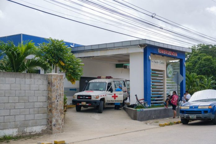 sala COVID Puerto Cortés