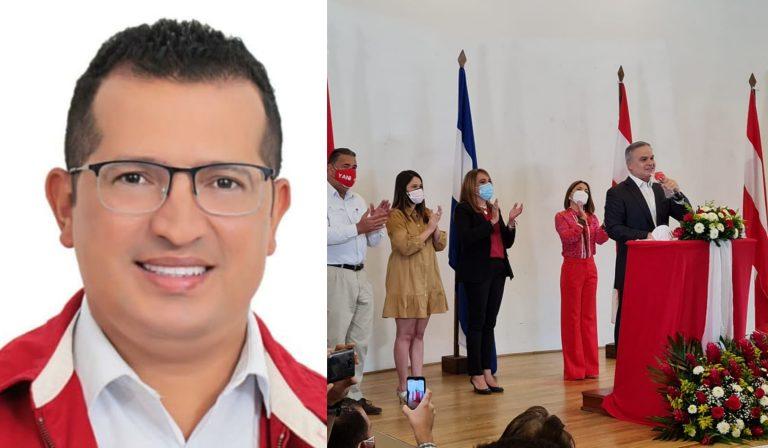 Periodista Erick Mejía, candidato a alcalde de Texiguat por Banegas, saluda triunfo de Yani