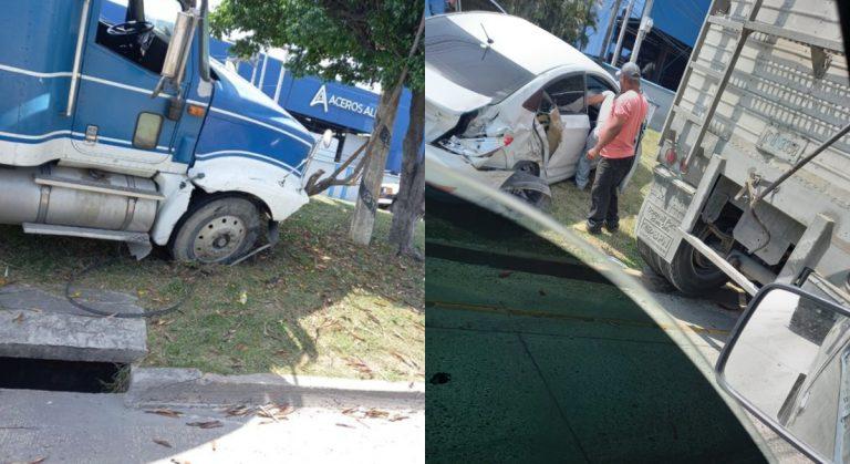 """Choloma: en la """"Vuelta del Cura"""" colisionan rastra y turismo; ¿qué ocurrió?"""