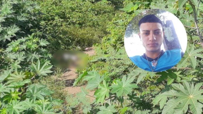 cadáver de joven en La Lima