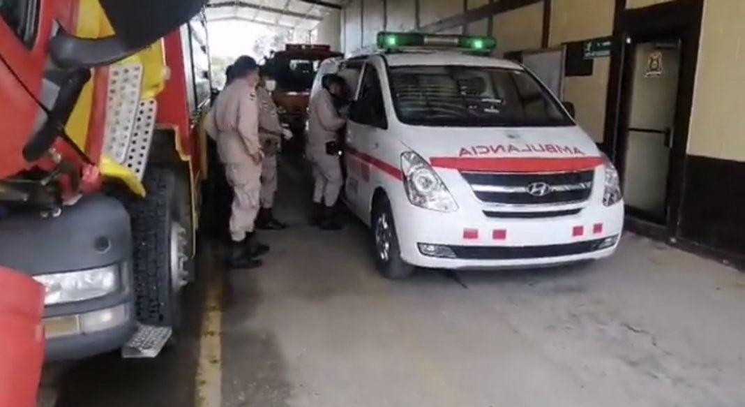 tirotean camión repartidor en Santa Cruz de Yojoa