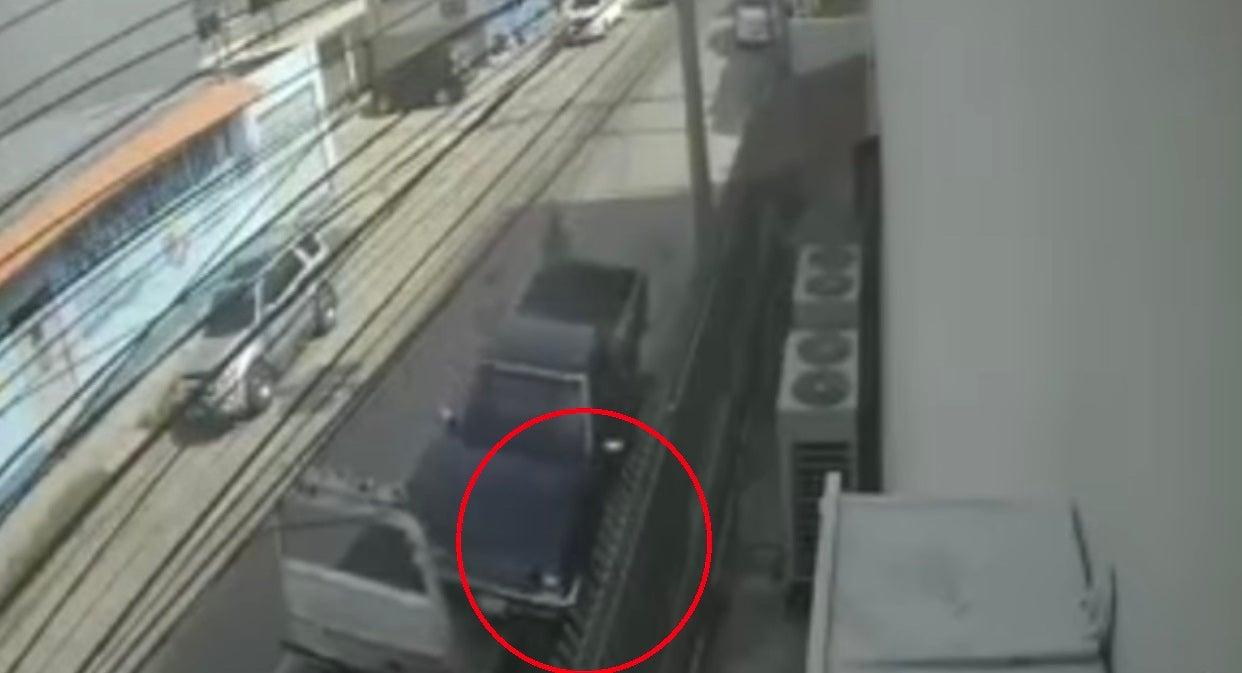 accidente donde murió conductor de grúa