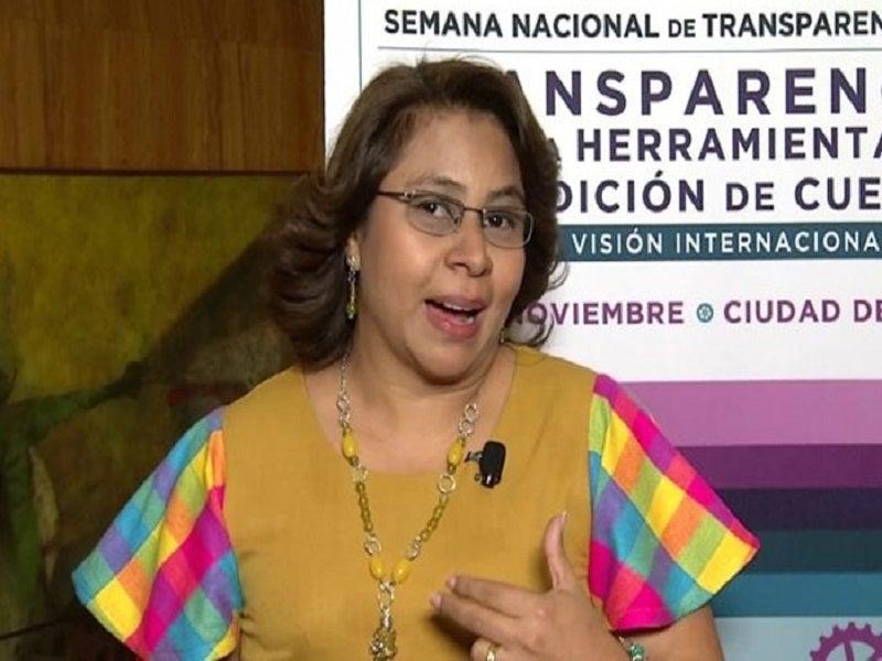 Ivonne Ardón, comisionada del IAIP.