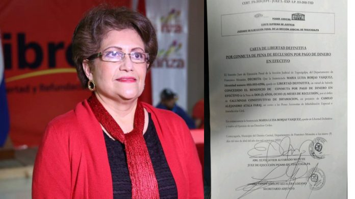 libertad definitiva María Luisa Borjas