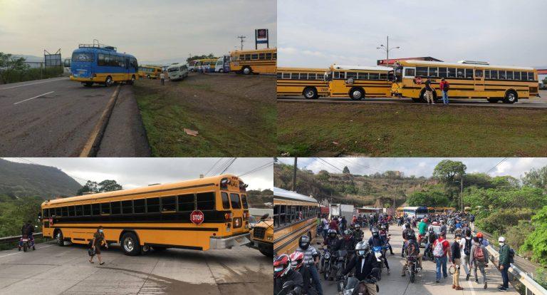 Honduras: ¿Qué sitios siguen tomados por los transportistas?