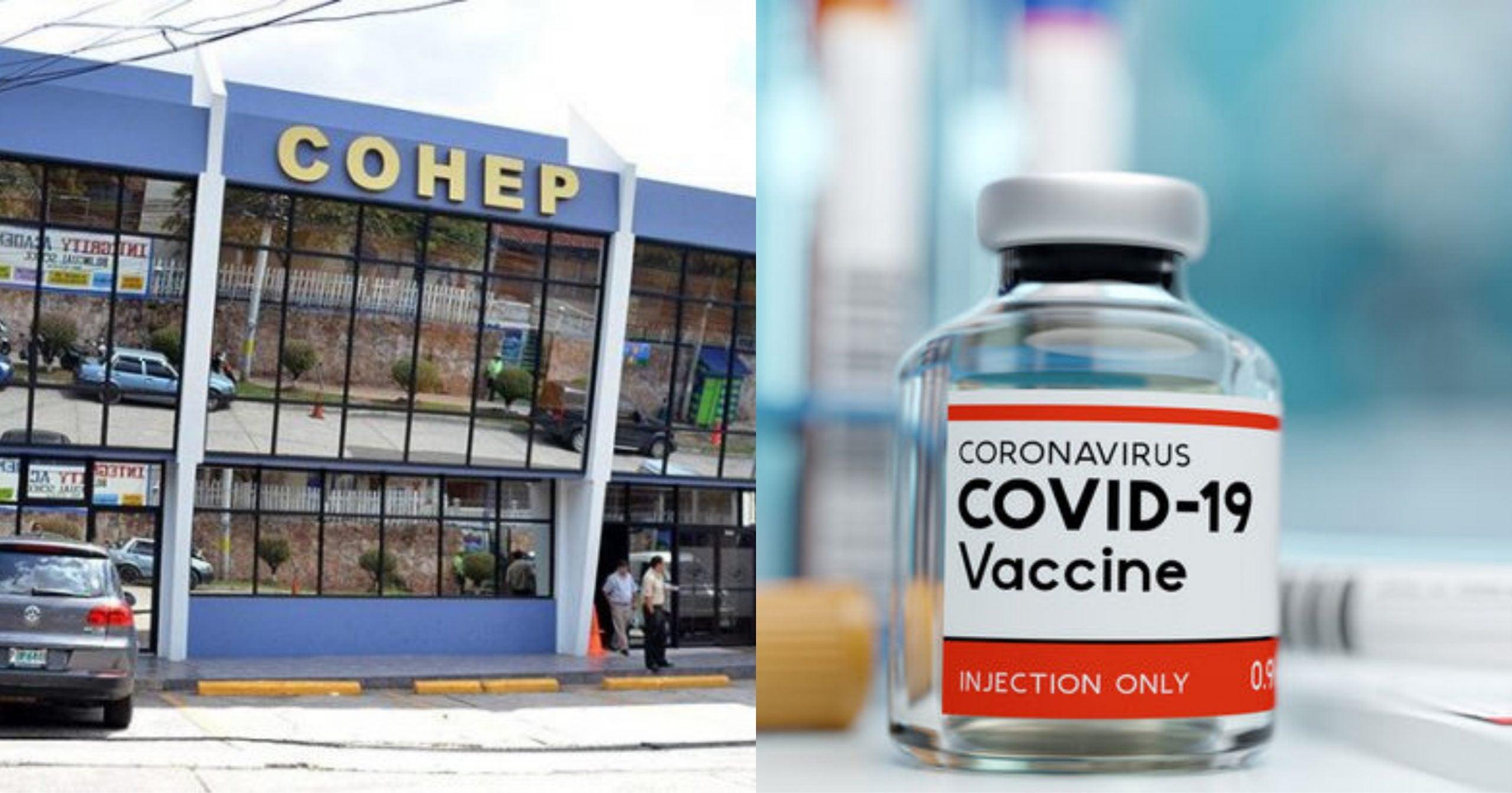 precio vacuna covid-19 cohep