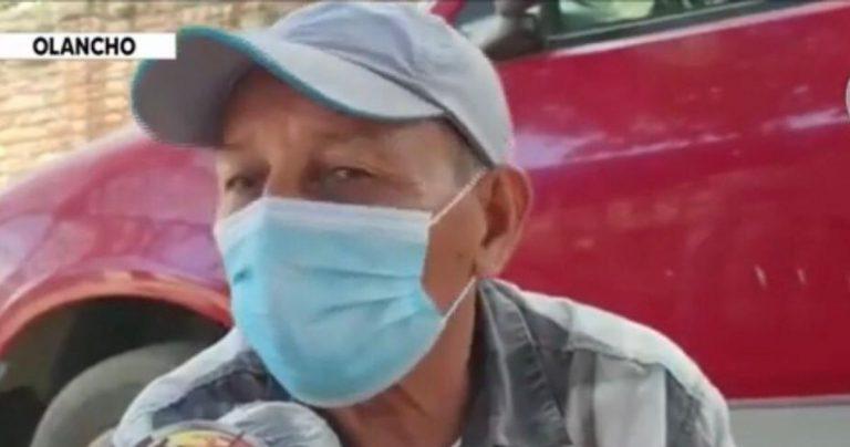 Olancho  Don José relata cómo perdió a su esposa y dos hijos por la COVID-19
