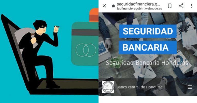 Alerta: Con página falsa del BCH, estarían robando datos de banca en línea