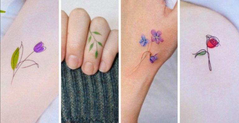 """DE MUJERES: 15 ideas de tatuajes florales """"perfectos"""" para la piel femenina"""