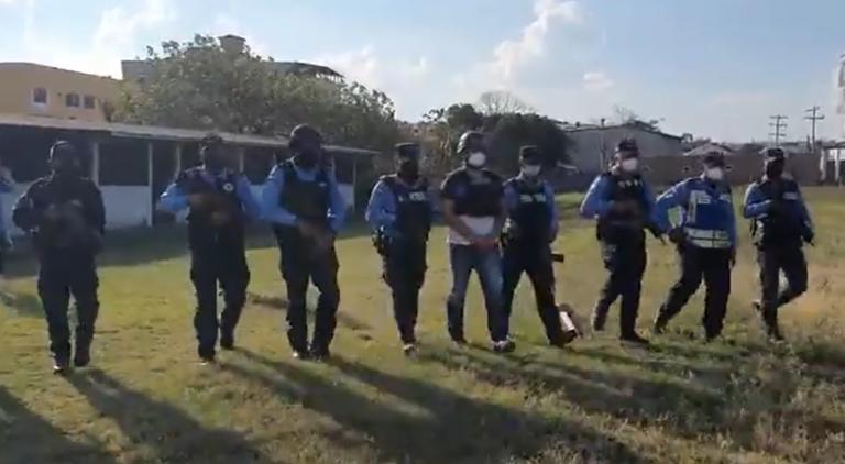 VIDEO| Así trasladaron a Martín Adolfo Díaz, pedido en extradición, hacia TGU