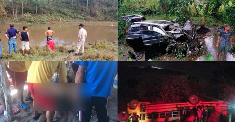 Autoridades: Hubo 24 accidentes viales, 46 heridos yrescataron 70 personas esta semana