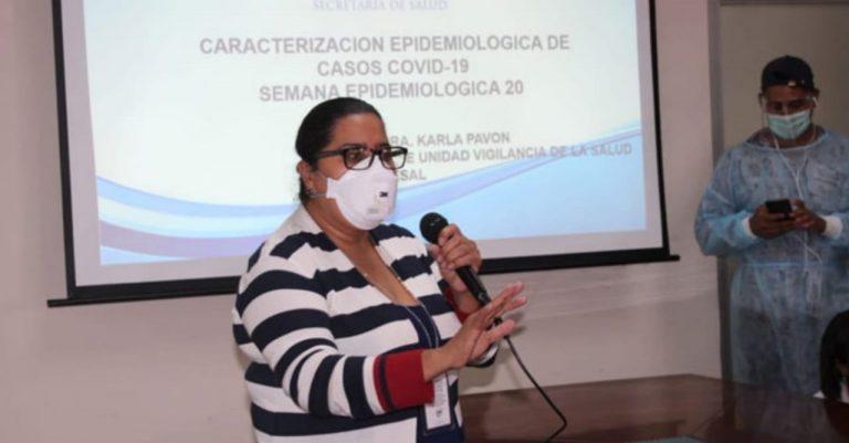 Karla Pavón pide orar para que productores de vacunas atiendan a Honduras