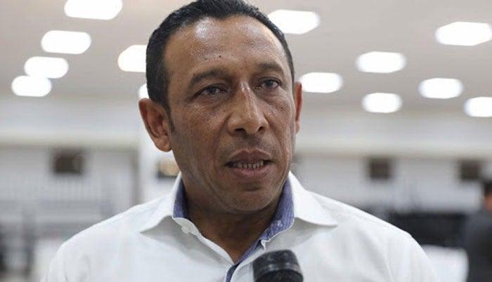 Carlos Cano, presidente de la Asociación de Municipios de Honduras (AMHON) y alcalde de Campamento, Olancho.