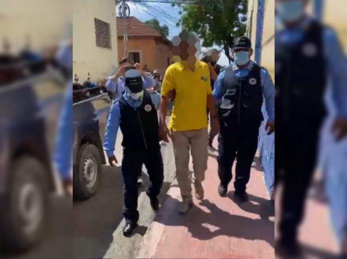 Hombre capturado Choluteca