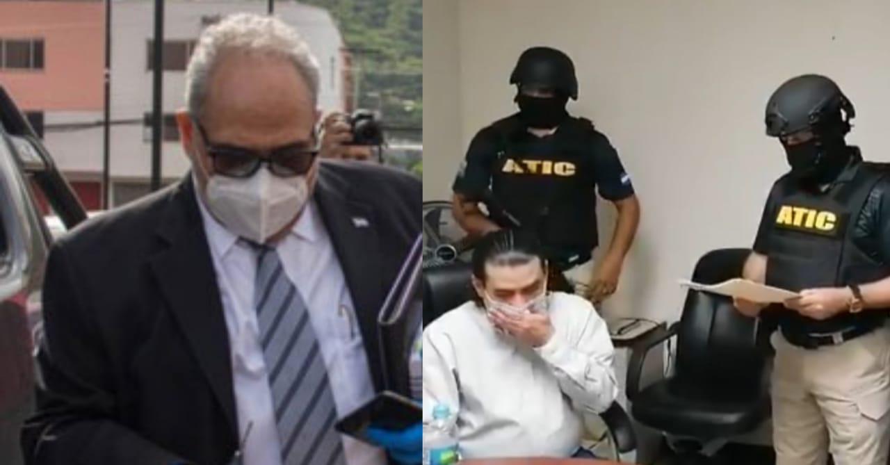 Marco Bográn detenido