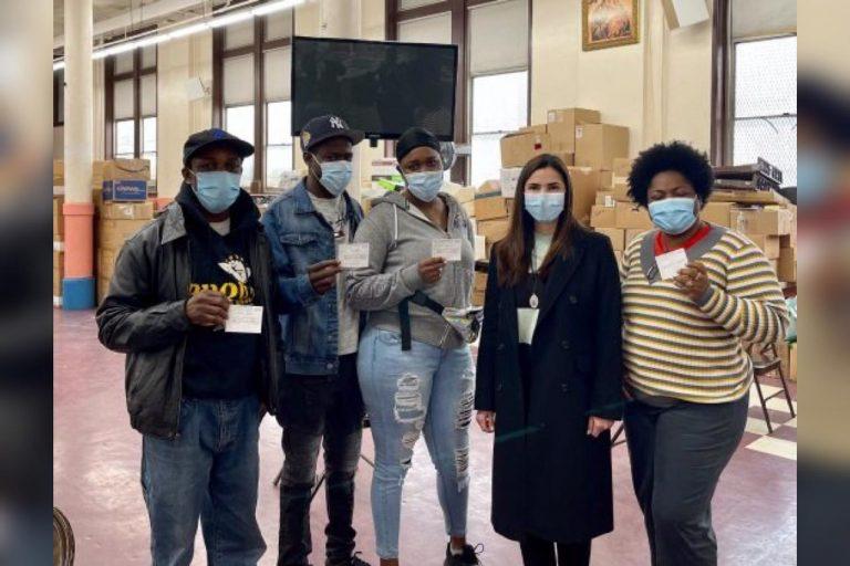 Inicia jornada de vacunación contra COVID para hondureños en Nueva York
