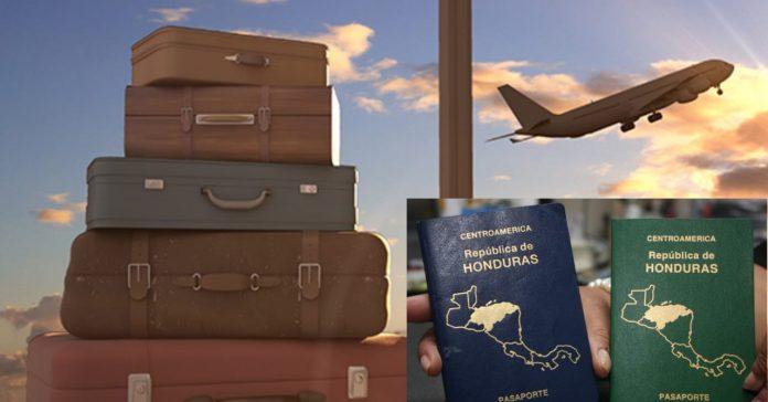 países visitar pasaporte hondureño