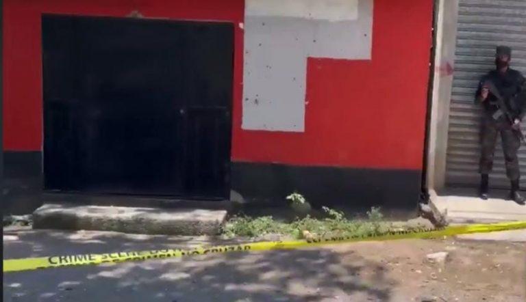 Comayagua: lo interceptan y matan frente a un billar, cerca de una posta policial