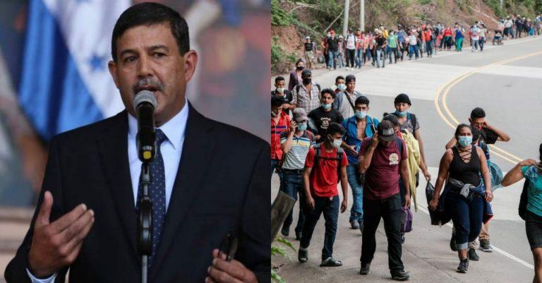 Defensa confirma que Honduras militarizará fronteras para contener flujo migratorio