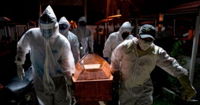 hondureños muertos covid Tegucigalpa