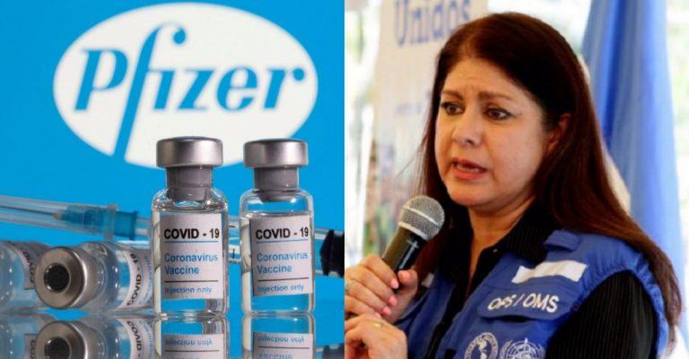 Entre junio y julio Honduras recibirá 200 mil vacunas de Pfizer, dice OPS