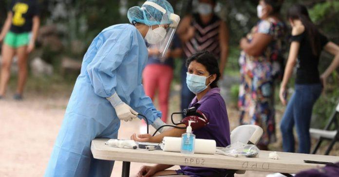 positividad casos covid Honduras