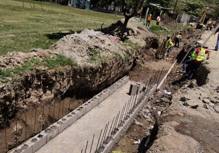 Municipalidad de SPS avanza con proyecto colector de aguas lluvias