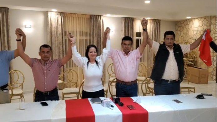 candidatos Luis Zelaya Copán