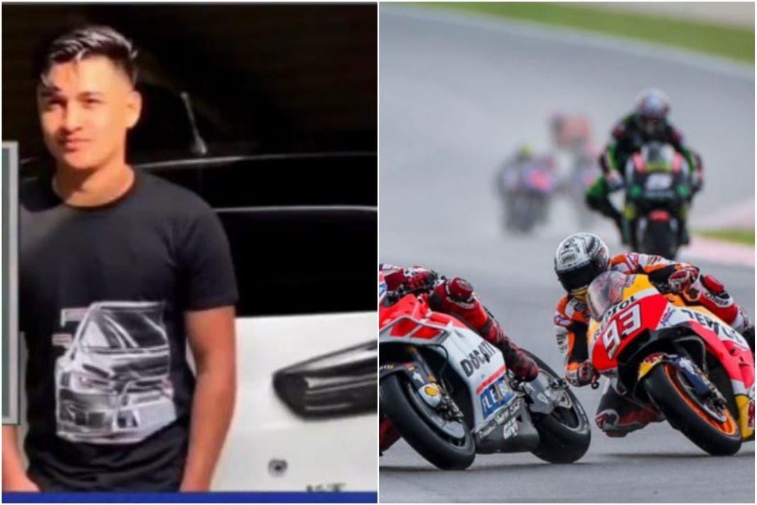 Muere hondureño competencia de motos EEUU