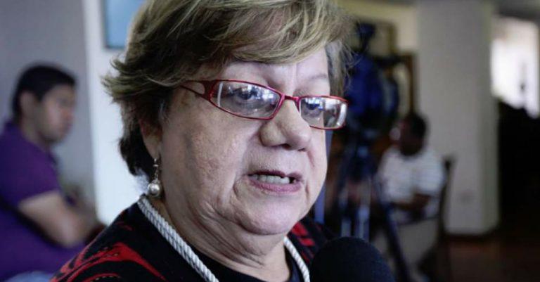 """Doris Gutiérrez: """"Si todas las alianzas no se unen, no podremos sacar al PN del poder"""""""