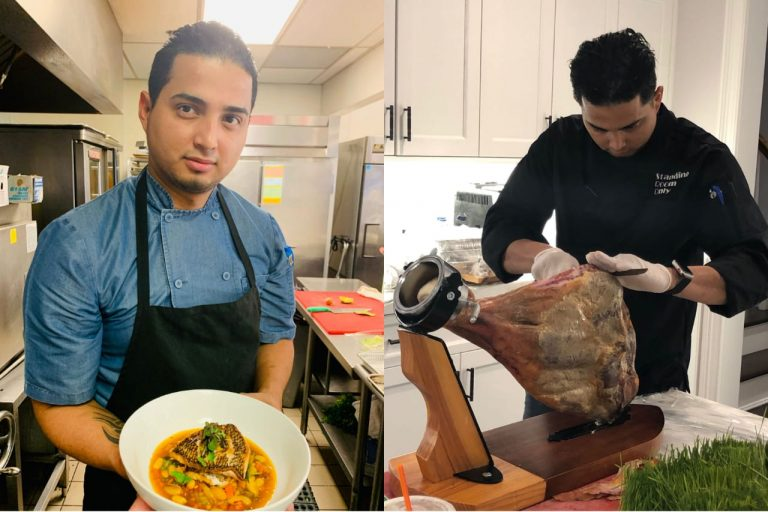 """Chef hondureño lleva su arte culinario a concurso """"Fire Masters"""" en Canadá"""