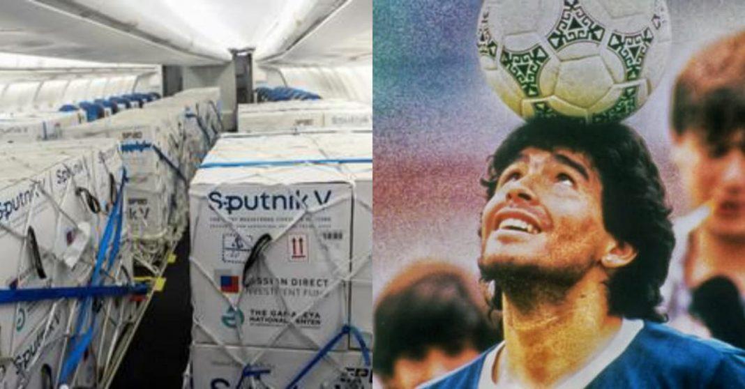 vacuna sputnik Maradona Argentina