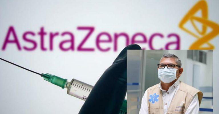 Salud: Más de 180 mil dosis de AstraZeneca llegarán el 3 de mayo