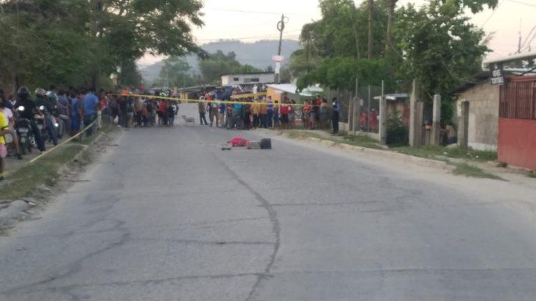 SPS: tiroteo en sector Lomas del Carmen deja dos personas muertas y varios heridos