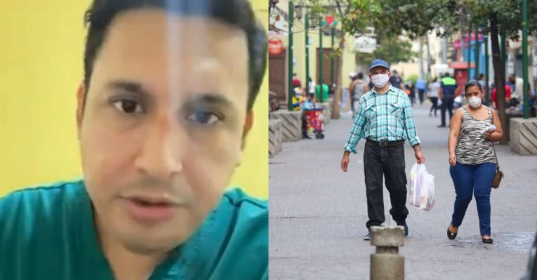 «Tomen medidas»  Médico hondureño suplica: «No les pido que se metan a un búnker»