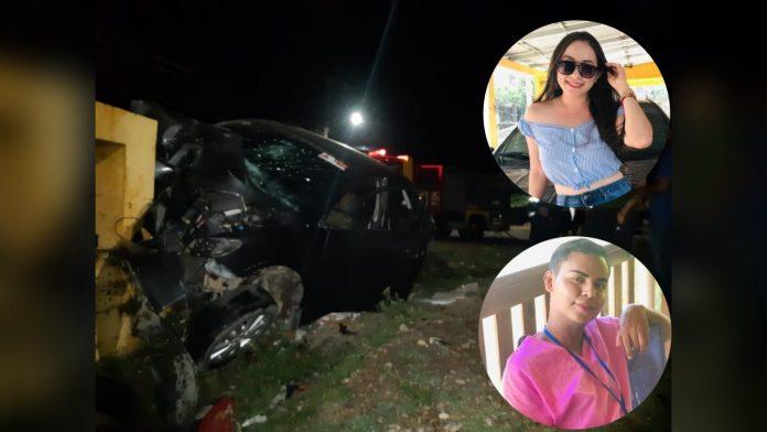 enfermeros fallecen accidente La Ceiba