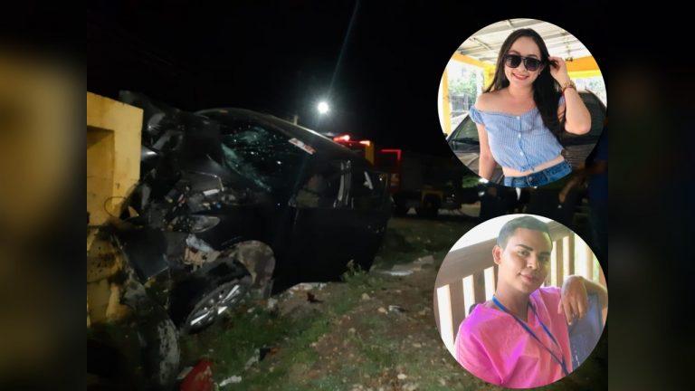 La Ceiba: tras salir de turno, enfermeros de 24 y 21 años fallecen en accidente