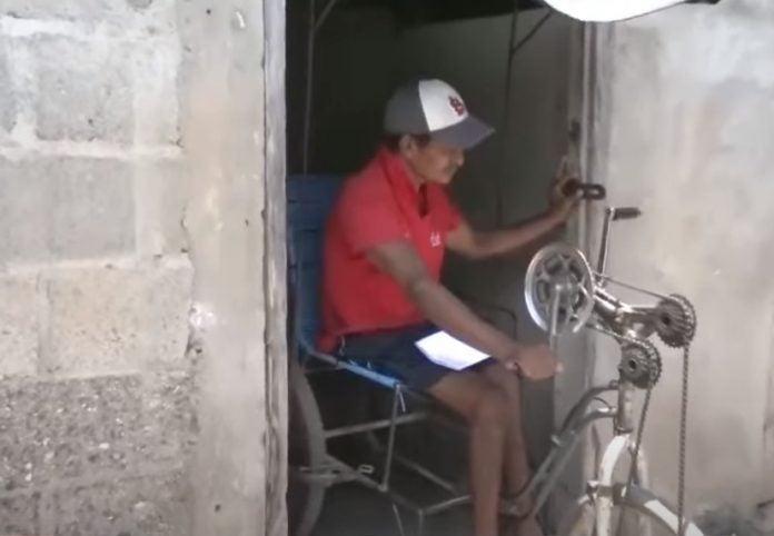 EEH cobra hondureño discapacitado
