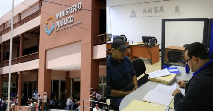 Ministerio Publico ARSA mascarillas