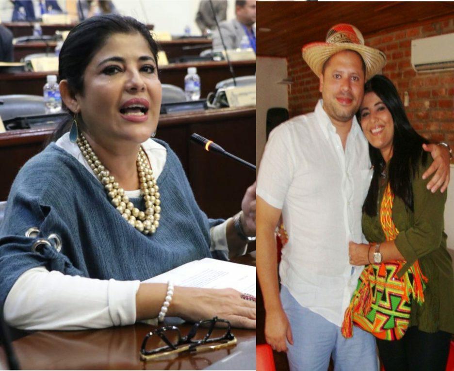 Waleska Zelaya y su esposo declararon por el caso el año pasado.